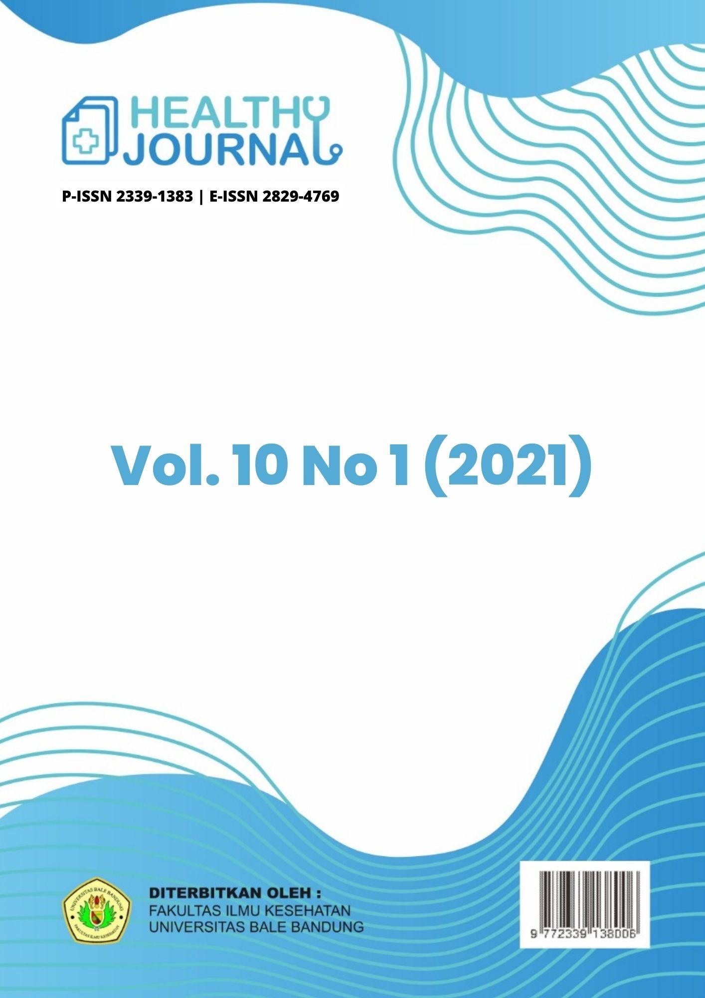 View Vol. 9 No. 1 (2021): HEALTHY JOURNAL | Jurnal Ilmiah Ilmu Kesehatan